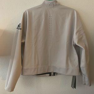 adidas Jackets & Coats - Adidas   Reversible Athletic Zip Up Jacket   L
